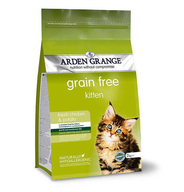 Arden Grange Kitten: fresh chicken & potato