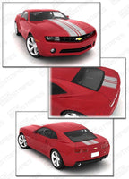 2010 2011 2012 2013 2014 2015 Chevrolet Camaro hood  trunk Decals Stripes 152588454013-2