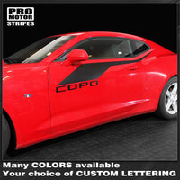 Chevrolet Camaro 2016-2019 COPO Style Side Accent Stripes