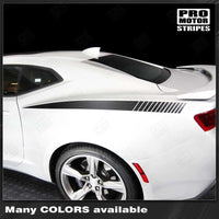 Chevrolet Camaro 2010-2019 Rear Quarter Side Accent Decal Stripes