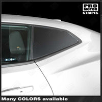 Chevrolet Camaro 2016-2019 Side Rear Window Blackout Accent Decal