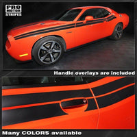 Dodge Challenger 2011-2019 Factory Style Dual Side Stripes