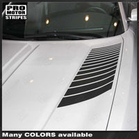Dodge Charger 2015-2019 Hood Side Accent Strobe Decals Stripes