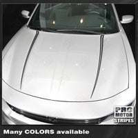 Dodge Charger 2015-2019 Hood Spear Accent Decals Stripes