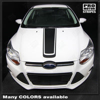 2011 2012 2013 2014 Ford Focus hood Decals Stripes 122586314012-2