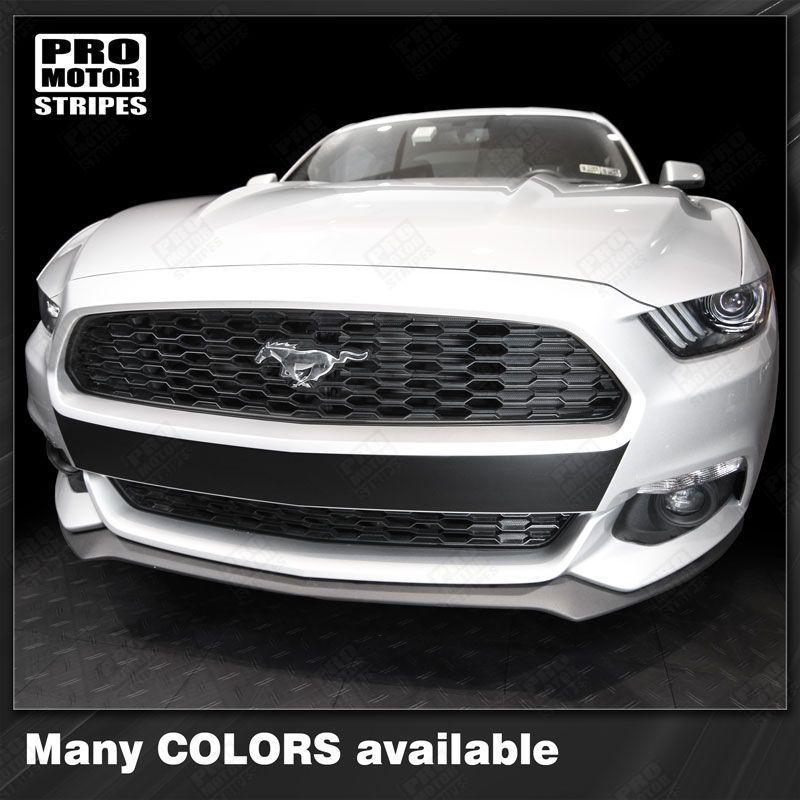 2015 2016 2017 Ford Mustang bumper Decals Stripes 132361462157-1