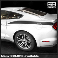 Ford Mustang 2005-2019 Rear Quarter Side Accent Stripes