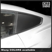 Ford Mustang 2015-2019 & 2005-2009 Side Rear Window Blackout Accent Decals