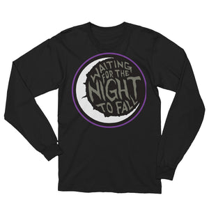 Waiting for The Night to Fall Unisex Long Sleeve T-Shirt