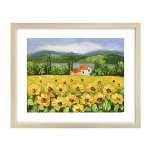 Canvas Art Painting, Original Painting, Sunflower Painting, Small Art Painting - Art Painting Canvas