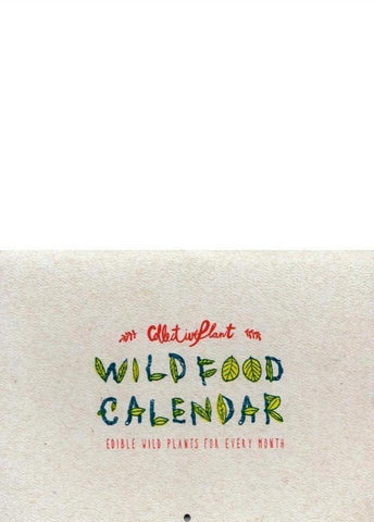 WILDFOOD CALENDAR - No Ordinary Heroes