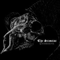 Scimitar, The - Doomsayer (Clear/White) (LP) Cover Art
