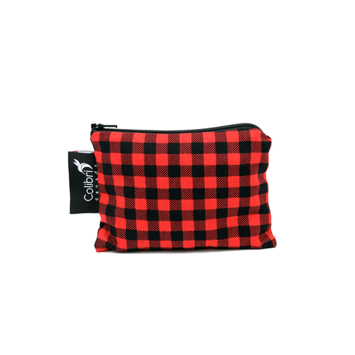 Colibri Reusable Snack Bags - Plaid