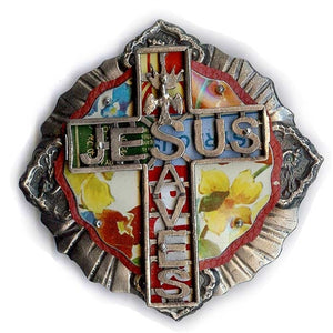 Jesus Saves Belt Buckle