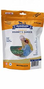 Granny's Garden Heirloom Vegetable Seed Collection
