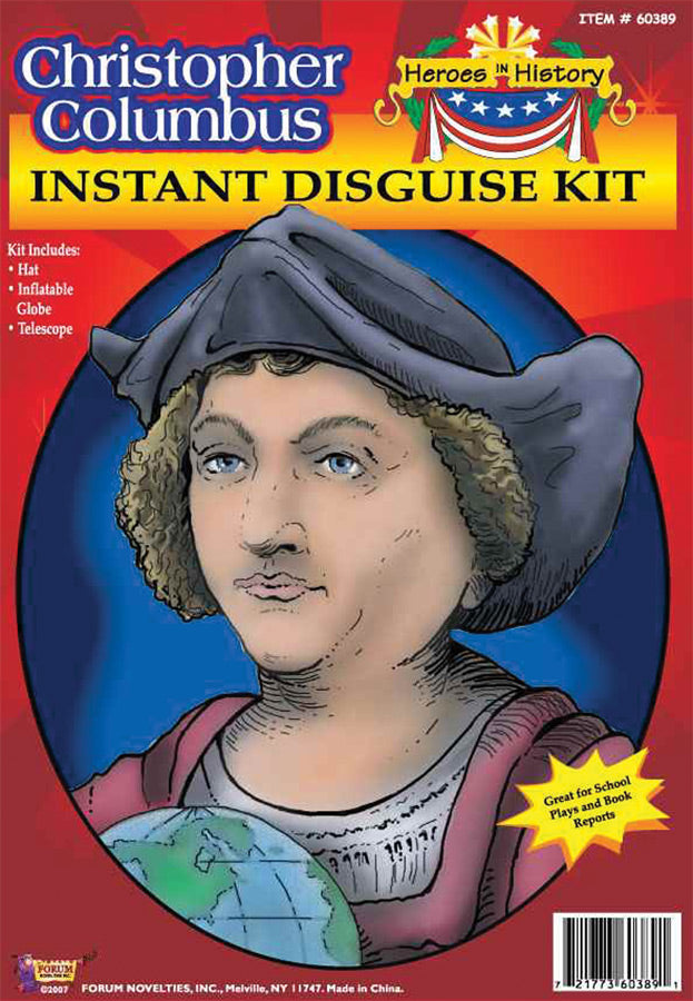 Halloween Costumes, Heroes In History Christopher Columbus Accessory Kit, Historical Costume, Miscellaneous Accessories Costume, Wigs & Hair Costume