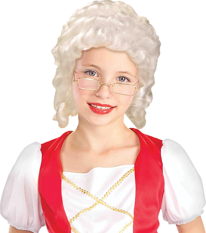 Child Wig Colonial Girl, Halloween Costumes, Historical Costume, Wigs & Hair Costume