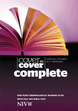 Cover To Cover Complete Bible NIV Edition - KI Gifts Christian Supplies