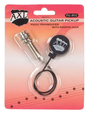 AXL PG-801 Acoustic Guitar Transducer Pickup with Endpin Jack