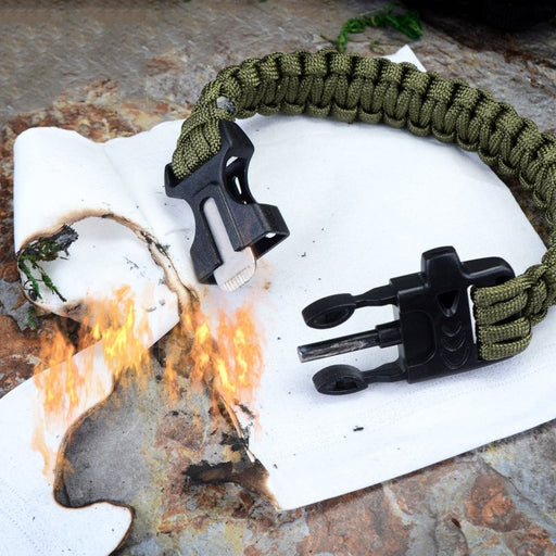 Outdoor Multifunction Survival Bracelet