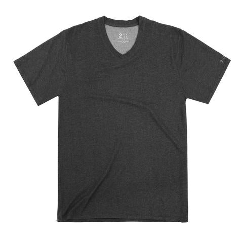 2UNDR V-Neck Men's T-Shirt Charcoal