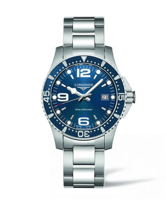 HYDROCONQUEST 41MM BLUE DIAL DIVING WATCH