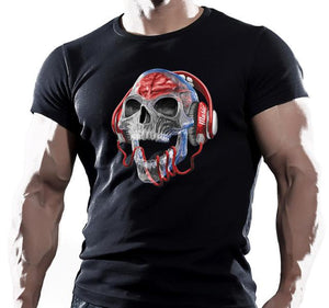 "Devilish DJ ""Wired"" Skull"