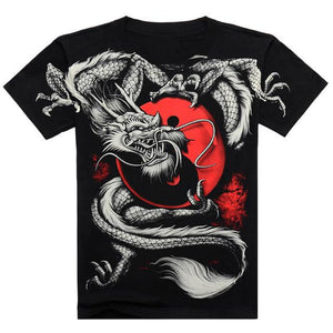 Devilish Yin&Yang Dragon T-Shirt
