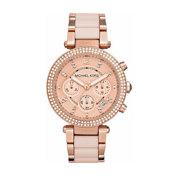 Michael Kors MK5896 Parker Ladies Chronograph Watch