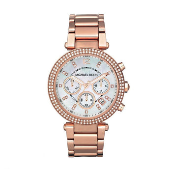 Michael Kors MK5491 Ladies' Chronograph Rose Gold Watch