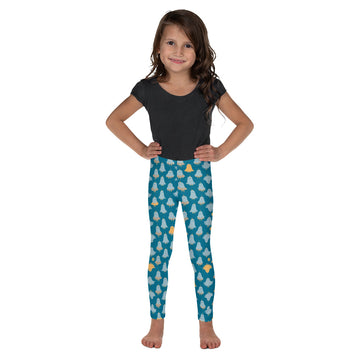 Kids Lorelei Leggings in Blue Mist