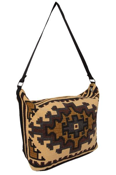 Cotton Stencil Purse- Tapestry T-1