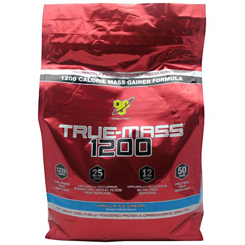 BSN True Mass 1200 - Vanilla Ice Cream - 10.25 lb - 834266006625