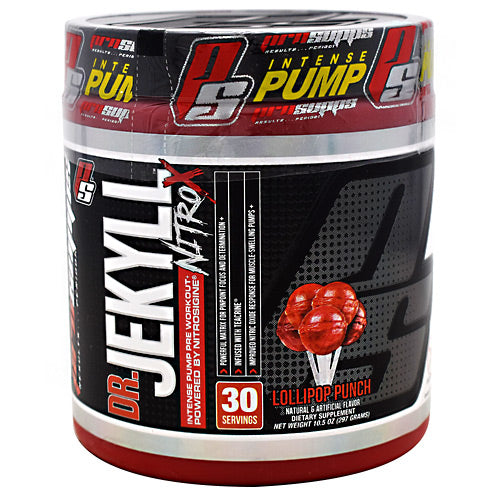 Pro Supps Dr. Jekyll Nitro X - Lollipop Punch - 30 Servings - 818253021808