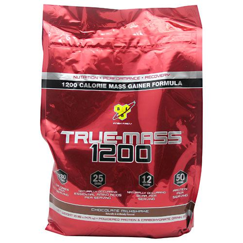 BSN True Mass 1200 - Chocolate Milkshake - 10.25 lb - 834266006571