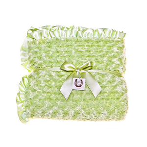 Celery Rosebuds Throw