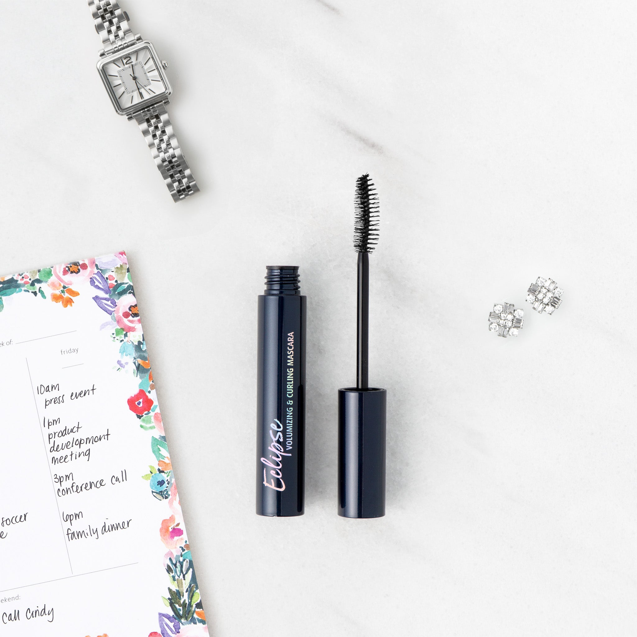 Lune+Aster Eclipse Volumizing & Curling Mascara flat lay