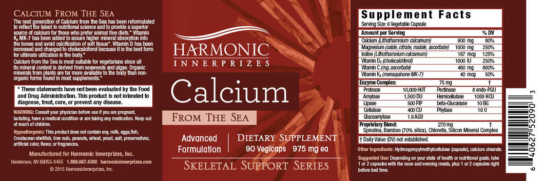 Calcium From The Sea