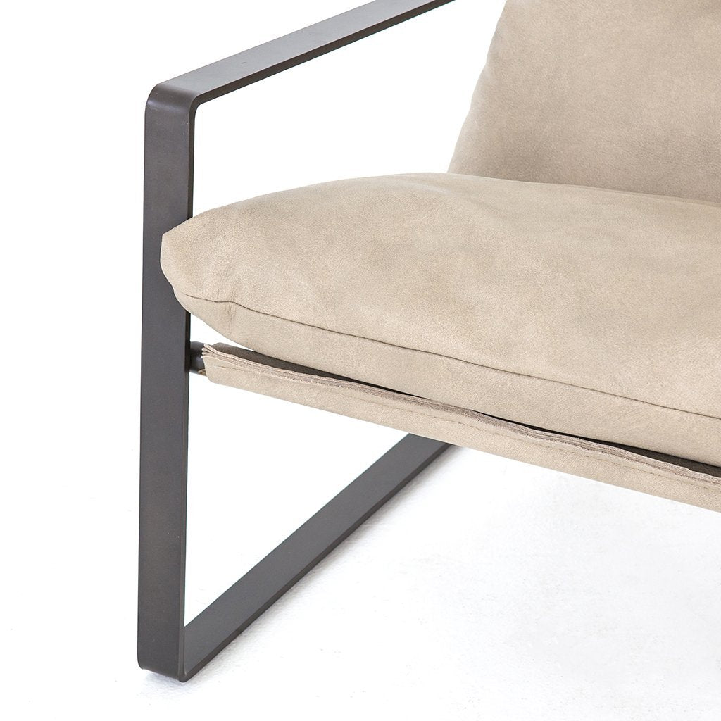 Emmett Sling Chair - Natural Umber CKEN-152A8-161 Four hands