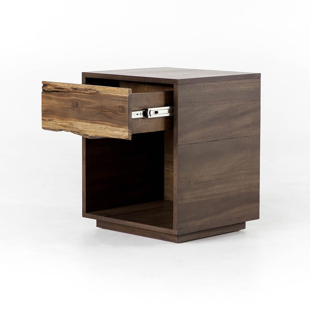Kingston Nightstand UWES-107 Four Hands Front Details