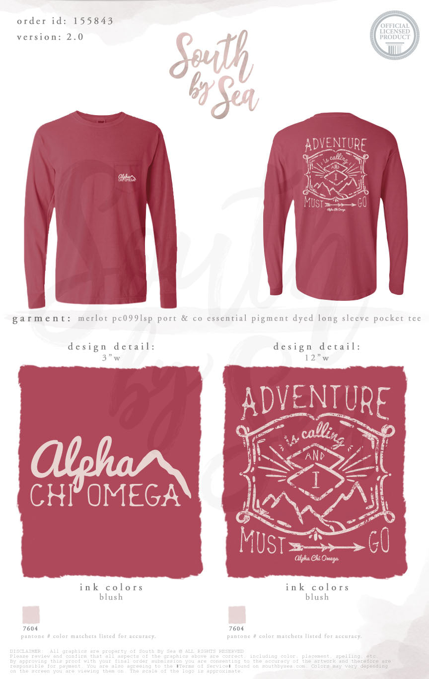 LAST CHANCE | 155843 | Alpha Chi Omega Adventure