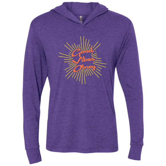 Good Vibes Olney Purple Long Sleeve