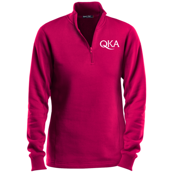 Ladies QKA 1/4-Zip Sweatshirt