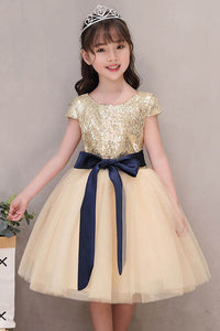 A-line Princess Cap Sleeves Flower Girl Dresses