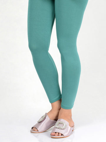 Basic Tights-Teal
