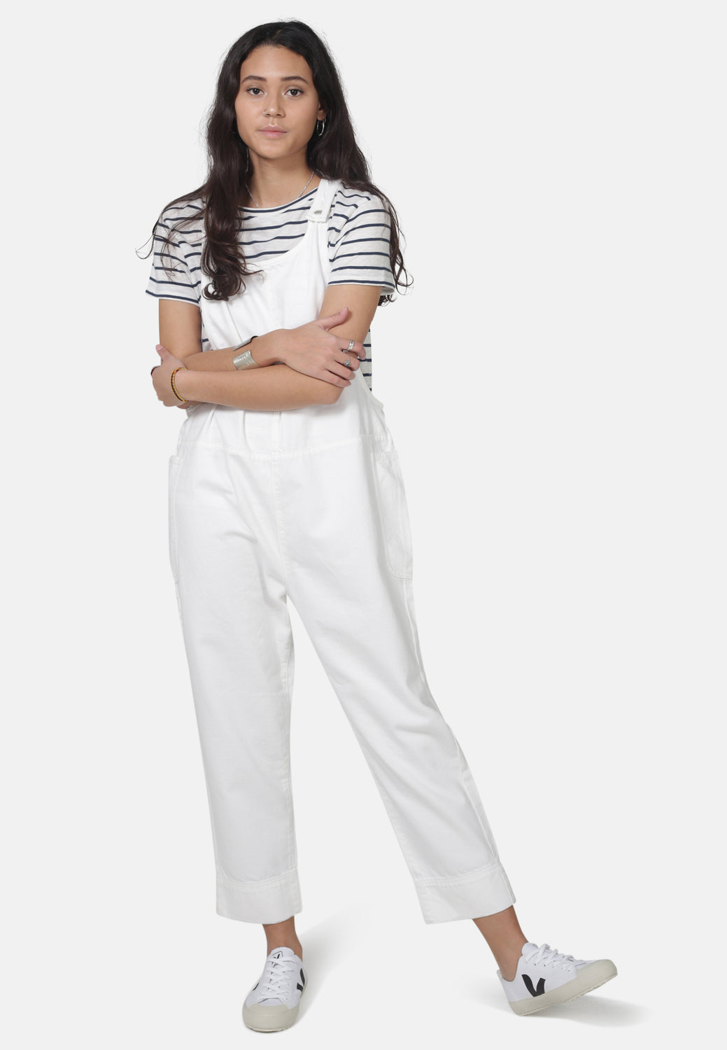 DUNGAREES // Organic Overall Dungarees in White Denim - Monkee Genes Organic Jeans Denim - Women's Dungarees Monkee Genes Official  Monkee Genes Official
