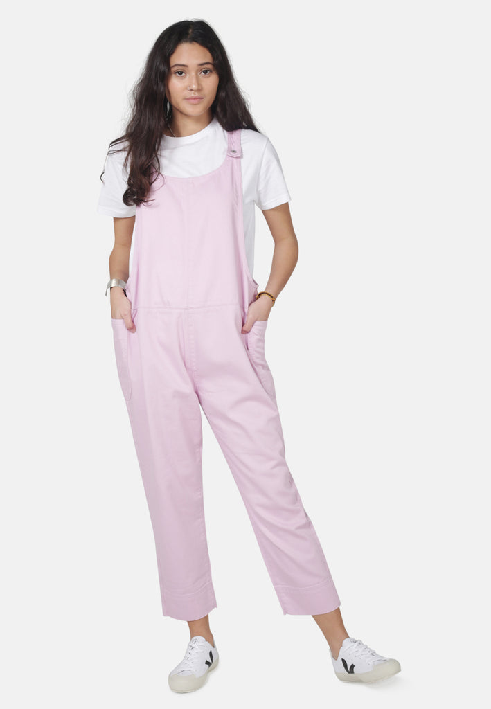 DUNGAREES // Organic Overall Dungarees in Pink Denim - Monkee Genes Organic Jeans Denim - Women's Dungarees Monkee Genes Official  Monkee Genes Official