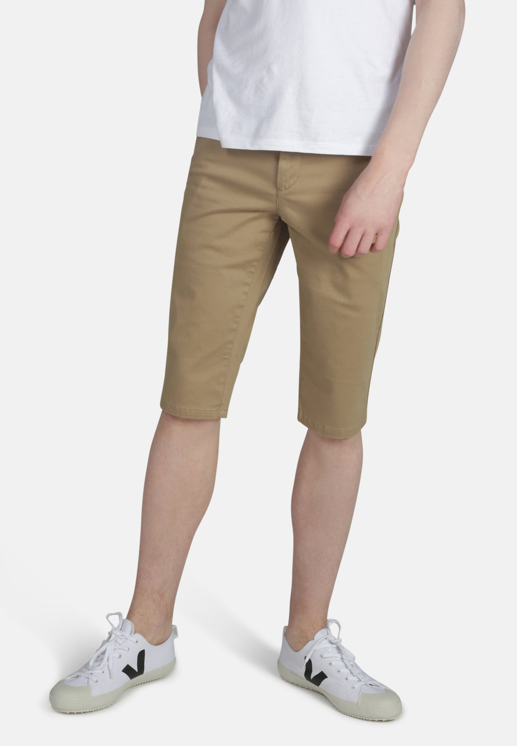 CHINO SHORTS // Organic Sateen Chino Short in Dark Buff - Monkee Genes Organic Jeans Denim - Men's Shorts Monkee Genes Official  Monkee Genes Official