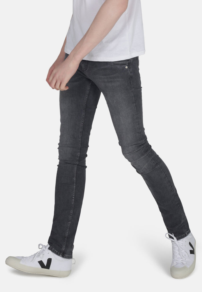 DEAN // Organic Flex Slim Fit Jeans in Grey Wash - Monkee Genes Organic Jeans Denim - Men's Slim Fit Monkee Genes Official  Monkee Genes Official