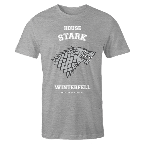House Stark Grey Cotton Shirt
